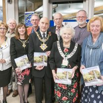 Image showing Clitheroe Civic Society at book launch event