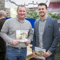 Image of Company Directors Michael and James at the Pinnacle Project book launch