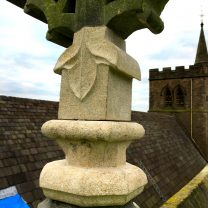 Image showing carved stone repair