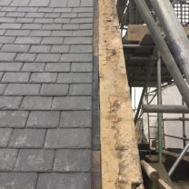 Image showing completed roof work