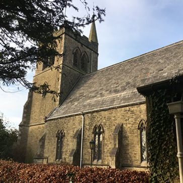 Image showing St Mary and St Michael's, Garstang