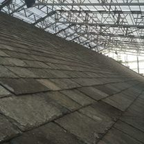 Image showing completed slate roof works