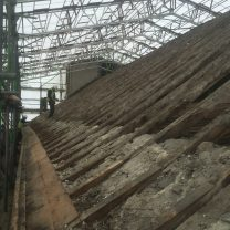 Image showing roofing prior to the timber repairs