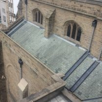Image of completed roof works