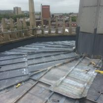 Image showing lead roof works