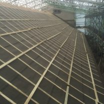 Image showing counter battening of the roof