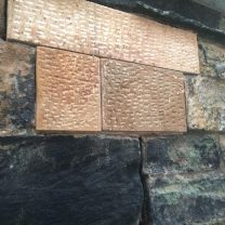 Image showing new stonework fixed in to position
