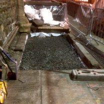 Image showing GLAPOR gravel installation