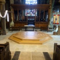 Image showing completed project at Halifax Minster