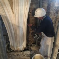 Installation of Plaster Rib
