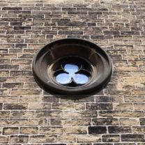 Image showing new Trefoil window